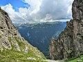 От седловината между вр.Ловница и Злия зъб-Южна Рила - panoramio.jpg
