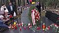 Памятный знак полякам - жертвам террора на Левашовской пустоши.JPG