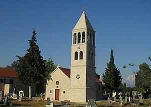 Kistanje - Image: Православна црква у Кистањама (Безбрадице)
