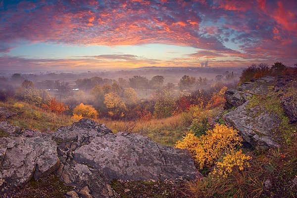 Ранкова палітра (Зуївський ландшафтний парк), © Віталій Башкатов, CC-BY-SA 3.0