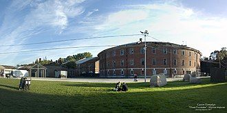 New Holland Island - The former naval prison