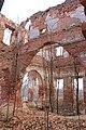Село Самуйлово Усадьба Голицыных главный дом руины 7.JPG