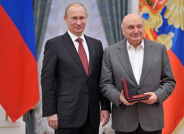 Присвоение почётного звания «Народный артист Российской Федерации»,26 декабря 2012 года