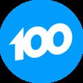 Четвёртый логотип телеканала 100ТВ.png