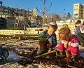 נטיעות בגינה הקהילתית בשכונת עיר גנים בירושלים, טו בשבט תשעז.jpg