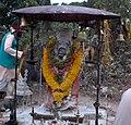 അഗസ്ത്യകൂടത്തിലെ അഗസ്ത്യമുനിയുടെ പ്രതിഷ്ഠ.jpg