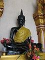 หลวงพ่อดำ วัดตะคร้ำเอน Luang Phor Dam (Black Buddha Image) in Takhram En Temple - panoramio (3).jpg