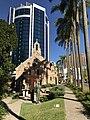 """Christ Accepting His Cross"" sculpture by Andor Mészáros, Brisbane 04.jpg"