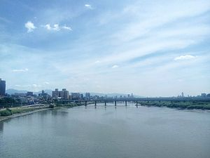 Dahan River - In New Taipei City