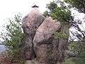 玉野市 石鎚山 (155.6m) ❀ 頂上や 炎天の岩 鎮まれり (小原善郎) - panoramio.jpg