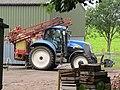 -2020-06-08 New Holland T6080 Tractor, Southrepps.JPG