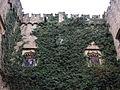 007 Castell de Santa Florentina (Canet de Mar), façana est, heura.JPG