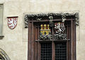 030 Escuts de Praga i Bohèmia a la façana de l'Ajuntament.jpg