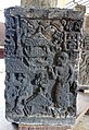 043 Relief, Woman and Houses, Museum Mojopahit (38618659350).jpg