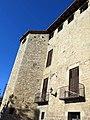 080 Monestir de Sant Cugat del Vallès, palau abacial, façana sud.JPG
