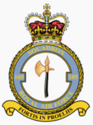 No. 105 Squadron RAF - 105 Squadron badge