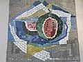 1120 Sagedergasse Rothenburgstraße Stg 4 - Mosaiksupraporte Melone von Jakob Laub 1954 IMG 7152.jpg