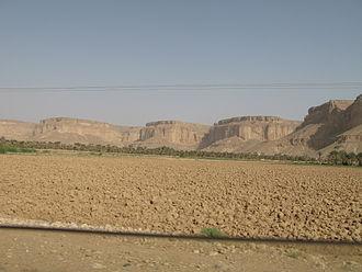 Hadhramaut Mountains - Mountains in Wadi Hadhramaut