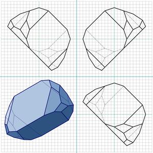 Plesiohedron - Image: 12 3 plesiohedron