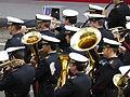 12 de octubre de 2014 en Madrid, banda de música de la Armada Española.JPG