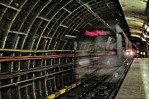 Ghost train (folklore) - Ghost metro train