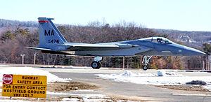 Massachusetts Air National Guard - Image: 131st Fighter Squadron Mc Donnell Douglas F 15C 21 MC Eagle 78 0476 2 1