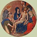 14th-century unknown painters - The Small Circular Pietà - WGA23668.jpg
