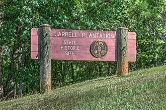 Jarrell Plantation - Image: 15 21 70 jarrell entrance