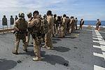 15th MEU Maritime Raid Force fire weapons on the flight deck 150606-M-TJ275-069.jpg