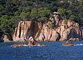 164 Punta de Canyet (Santa Cristina d'Aro), glorieta.JPG