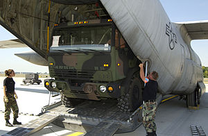 166th Airlift Wing C-130 Hercules support for Hurricane Katrina victims.jpg