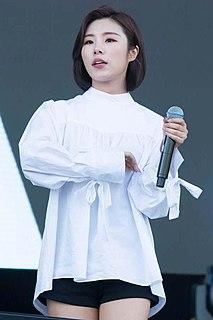 Wheein South Korean singer