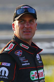 D. J. Kennington Canadian stock car racing driver