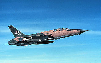 388th Fighter Wing - 17th WWS Republic F-105G, AF Ser. No. 63-8316.