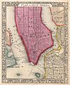 1860 Mitchell Map of New York City, New York (first edition) - Geographicus - NYC-mitchell-1860.jpg