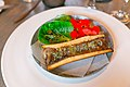 18 Roasted Bone Marrow, Cabbage, and Nasturtium Flowers (15481429061).jpg