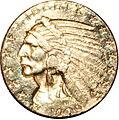 1909 half eagle obverse.jpg