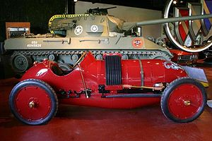 Buick - 1910 Buick Bug Race Car and 1944 M18 Buick Hellcat Tank Destroyer