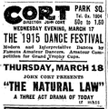 1915 dance CortTheatre BostonGlobe March15.png