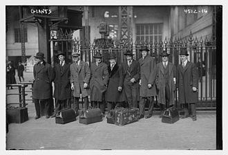1918 New York Giants season - 1918 New York Giants