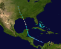 1920 Atlantic hurricane 2 track.png