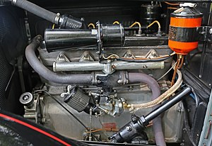 "Willys-Knight - The 178 CID ""Light Six"" engine in a 1926 Series 70"