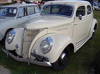 Matford - Matford Alsace V8 (1936)