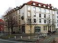 1937 ehemalige Kreissparkasse Hannover von Karl Siebrecht, Wilhelmstraße 2 Ecke Höltystraße, Hildesheimer Straße, ROSS Fachschule Diploma Hochschule Studienzentrum.JPG