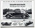 1938 Triumph Dolomite 14-60 Foursome Coupe advert.jpg