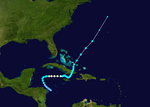 1939 Atlantic hurricane 6 track.png