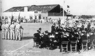 Lehigh Valley International Airport - Image: 1943 ABE Airport Navy Pilot Training