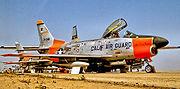 194th Fighter-Interceptor Squadron North American F-86L-60-NA Sabre 53-4081