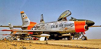 144th Fighter Wing - 194th FIS F-86L Sabre Interceptors, 1960