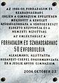 1956-os forradalom emléktáblája Csepelen.JPG